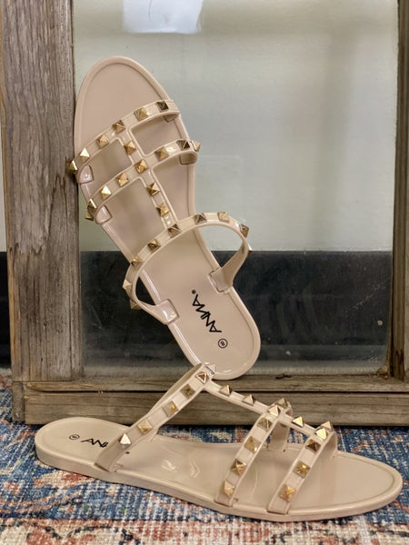 Feeling Cute Sandals - Nude