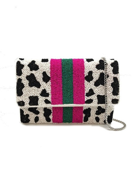 Hollywood Cow Mini Clutch