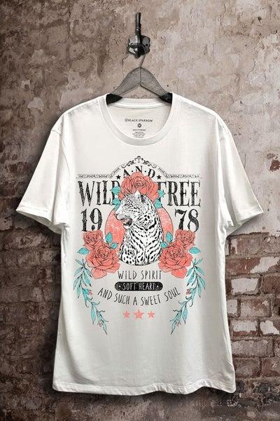 Live Wild Graphic Tee - White