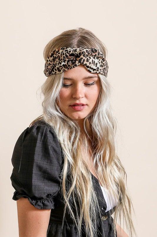 Wild Side Twist Headwrap