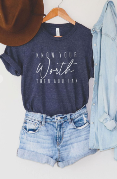 Know Your Worth Graphic Tee