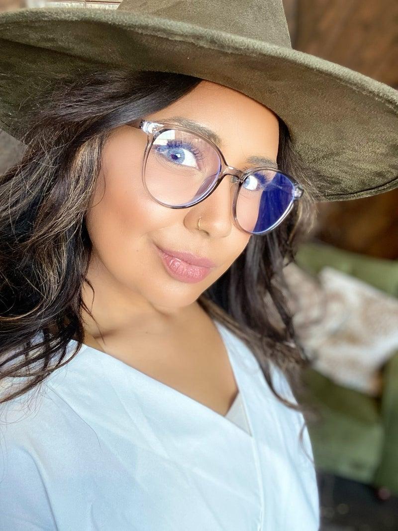 Sleek Round Blue Light Blocking Glasses