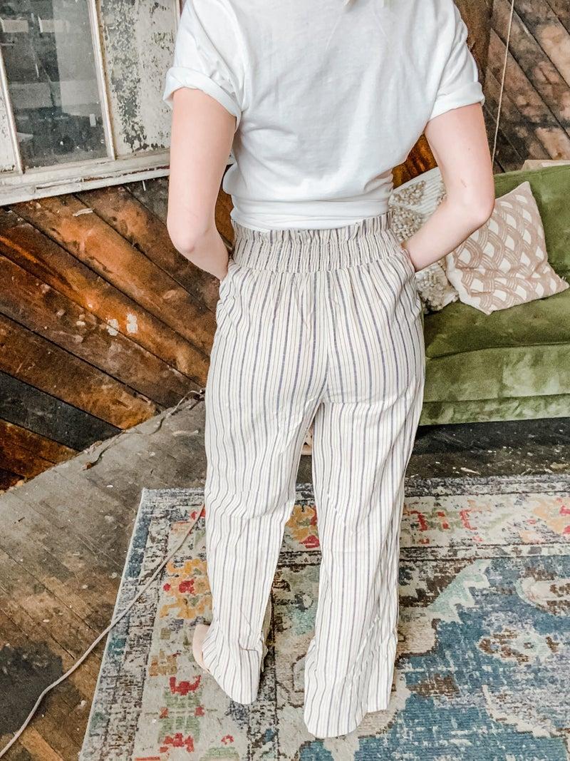 Take Charge Linen Pants