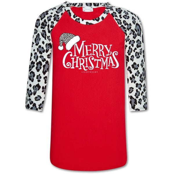 *FINAL SALE* Merry Christmas Raglan Tee by Southern Couture