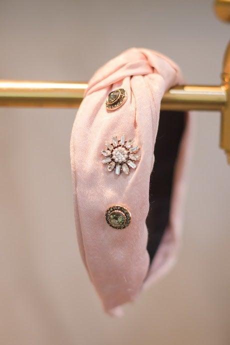 Knotted Embellished Headband