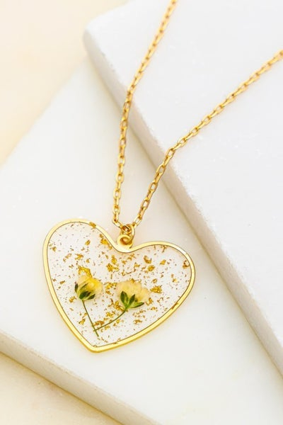 Heart Of Spring Necklace