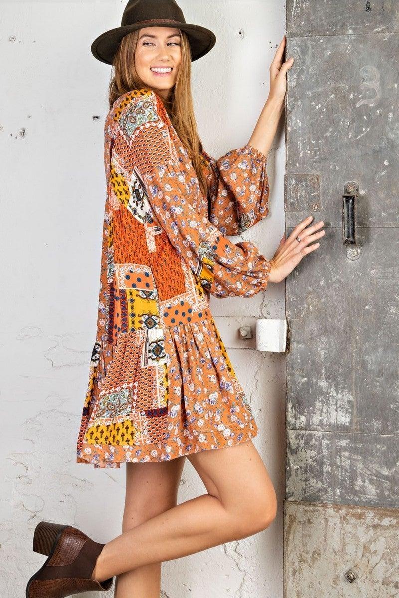 *FINAL SALE* Memories Of Blossom Dress