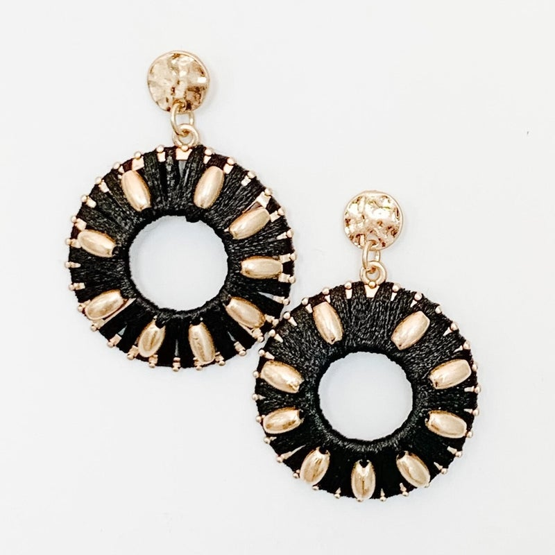 You Spin Me Right Round Earrings