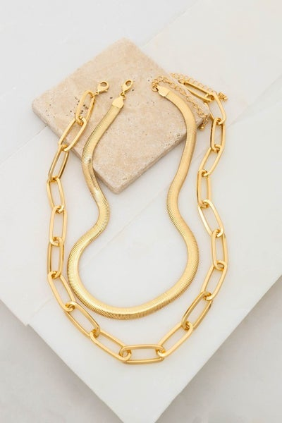 More Than Anything Chain Necklace Set