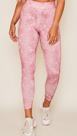 That's Life Leggings - Pink