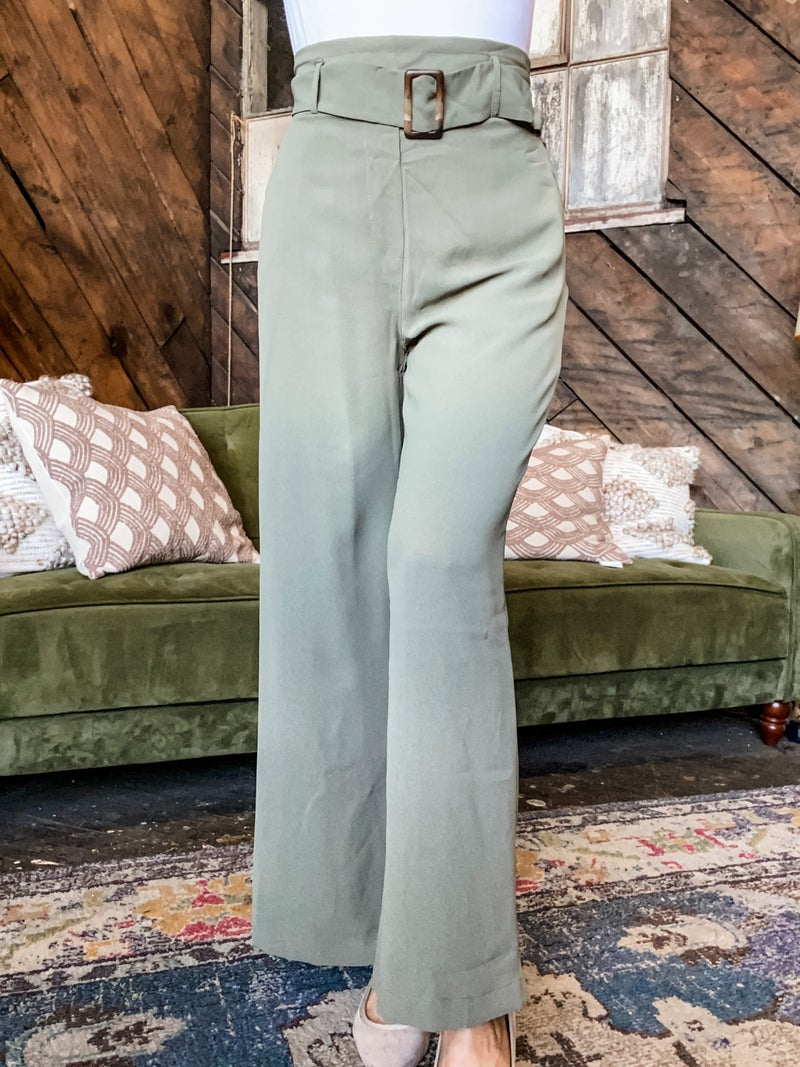 *FINAL SALE* Wonderfully Woven Pants