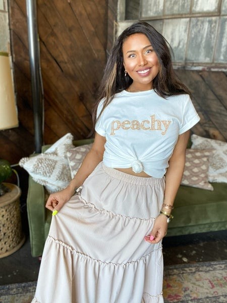*FINAL SALE* Just Peachy Graphic Tee