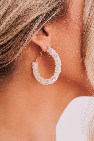 White Ice Earrings