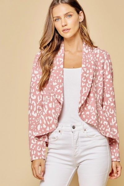 Wild and Chic Blazer