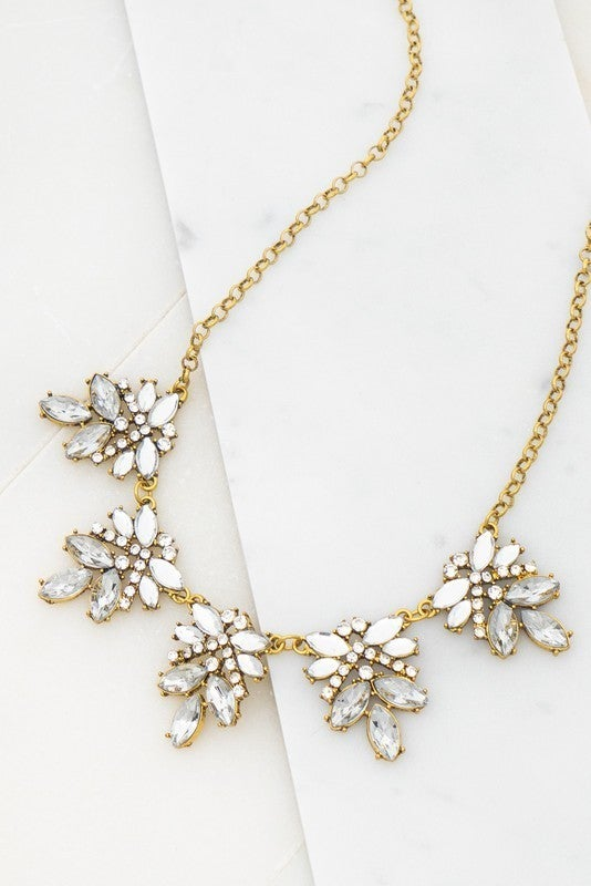 Covered In Jewels Necklace