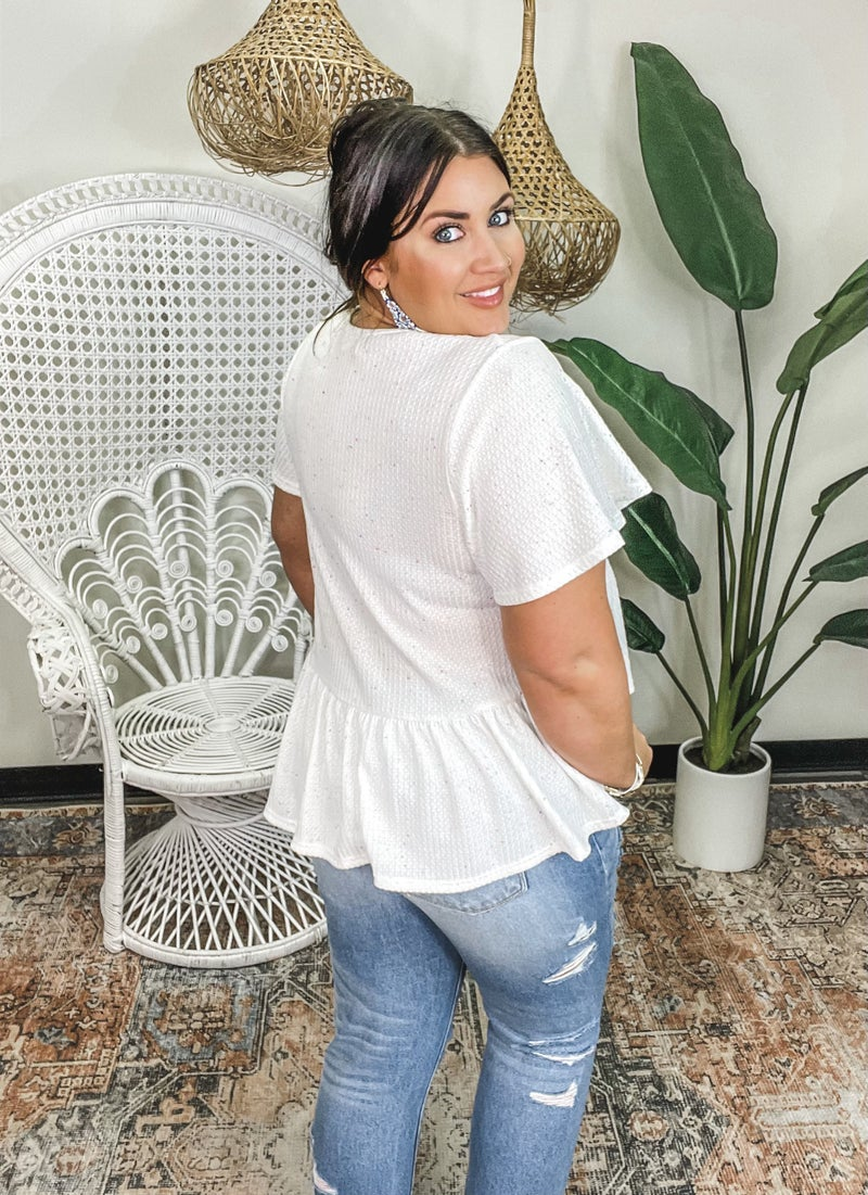 Allure Top - Ivory