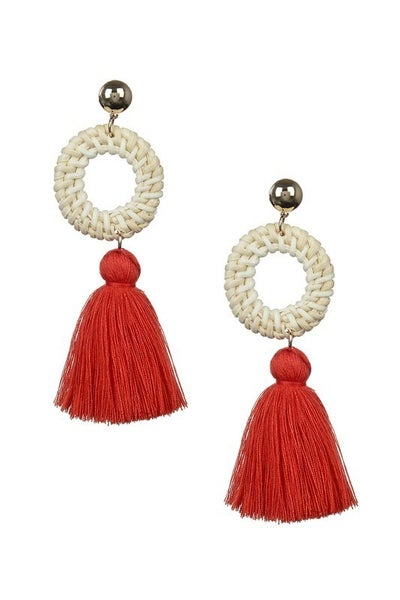 Tassel Me Boho Earrings