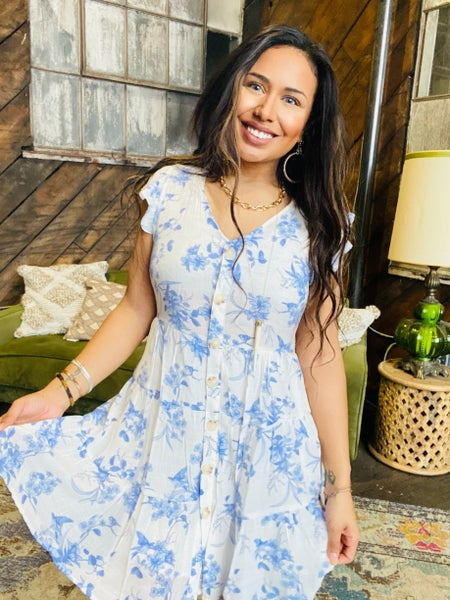Feeling Free Floral Dress