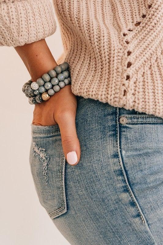 Grey Days Bracelet