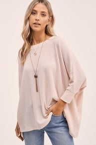 So Chill Tunic Top - SAND