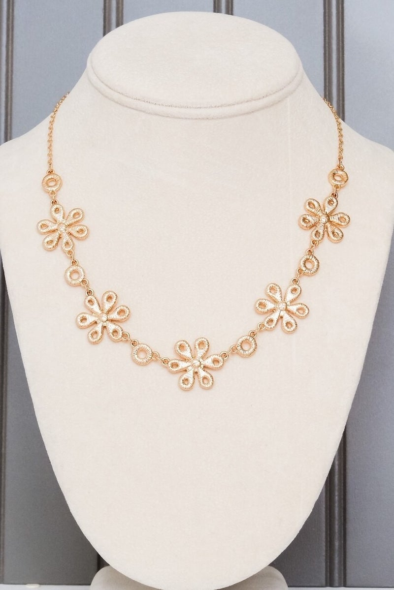 Decked In Lace Necklace
