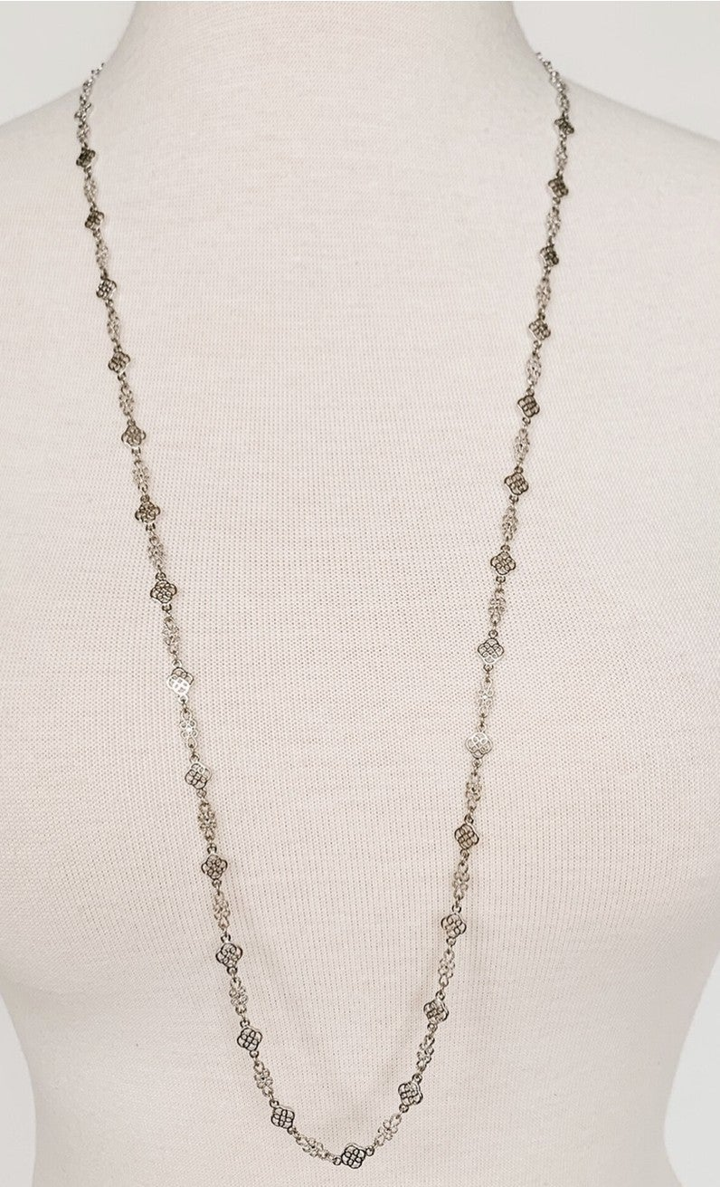 Fancy Filigree Necklace