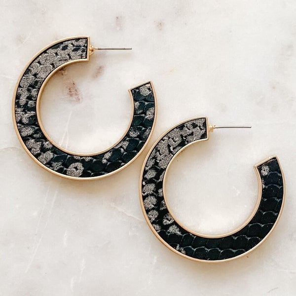 Cold Hearted Snake Earrings