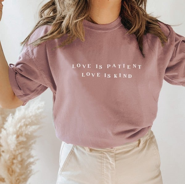 Love is Patient Love is Kind Tee
