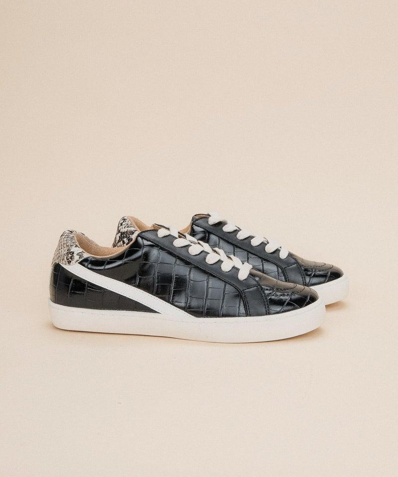 Crocodile Street Snakeskin Sneakers