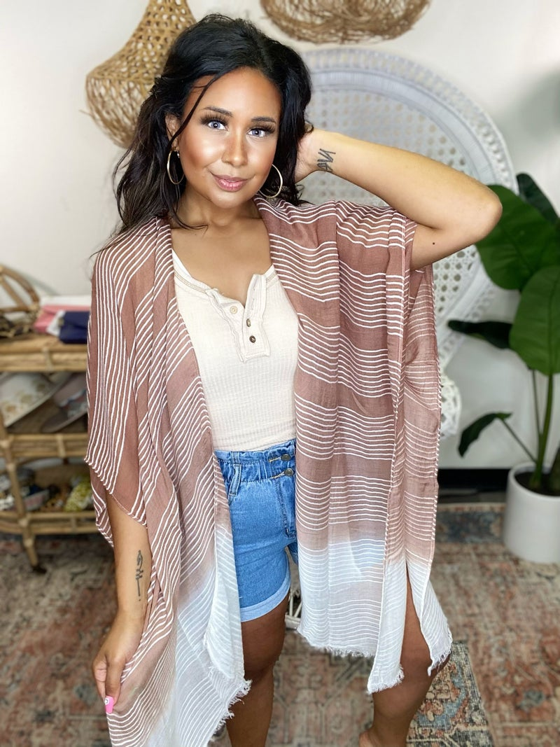 Woven In Beauty Kimono