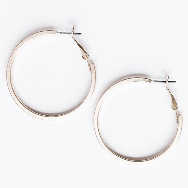 Ready To Mingle Hoop Earrings