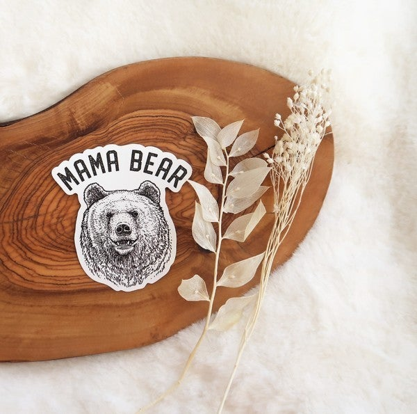 Mama Bear Vinyl Sticker