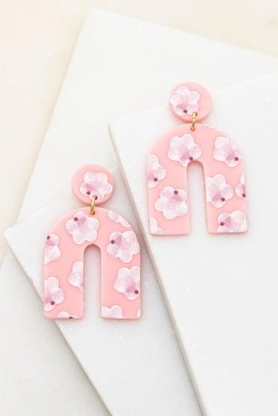 Pink Paradise Drop Earrings