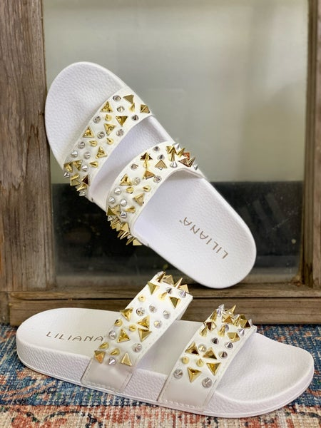 Summer Fun Sandals - White