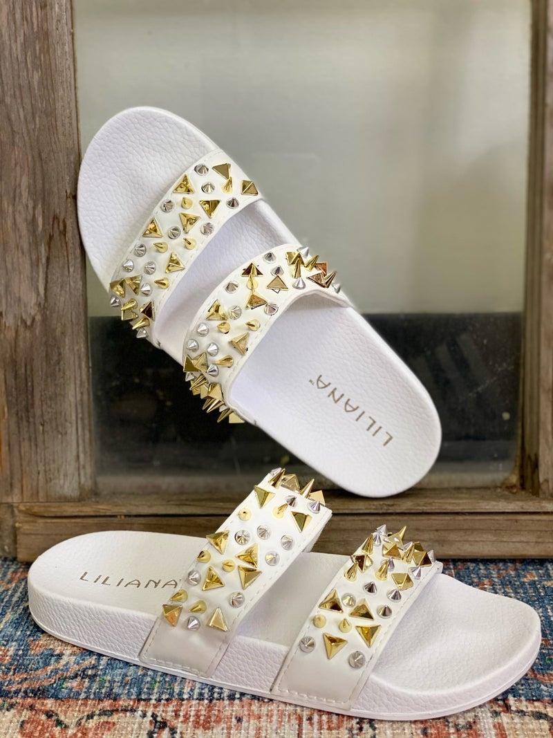 Summer Fun Sandals - White
