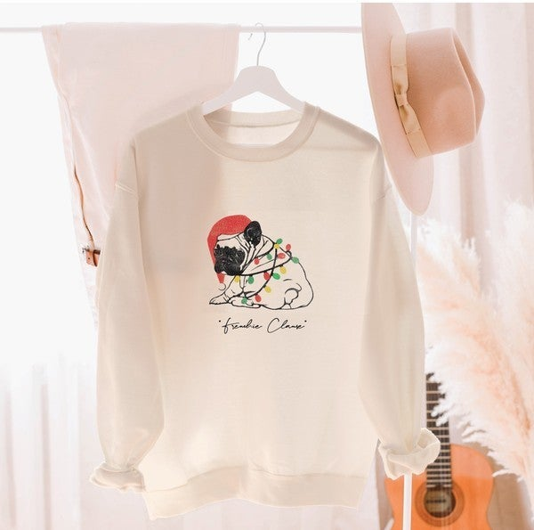 Frenchie Clause Sweatshirt