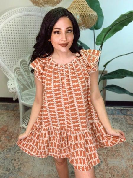 Cup Of Tea Mini Dress