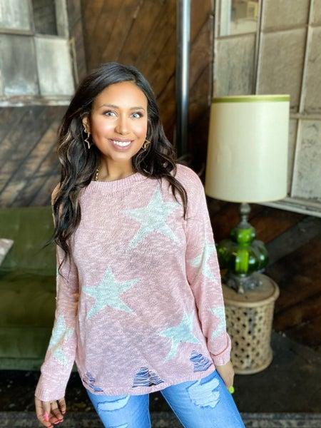 Catch A Falling Star Sweater