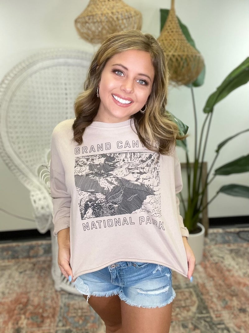 Grand Canyon Graphic Sweatshirt