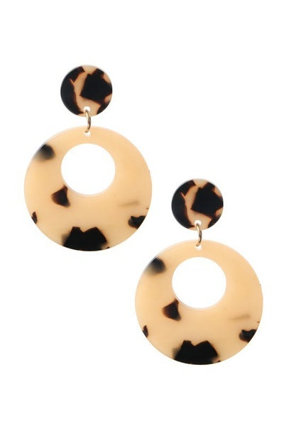 Party All Night Circle Earrings
