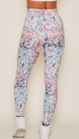 Animalistic Athletic Leggings - Multi