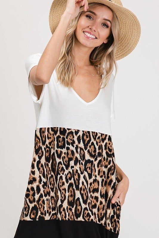 Let's Get Wild Maxi Dress - Leopard