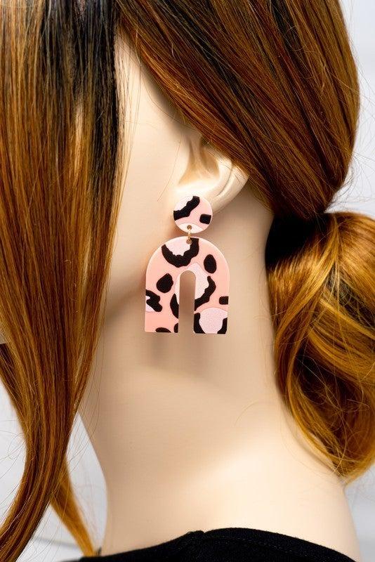 Keep It Wild Horseshoe Earrings
