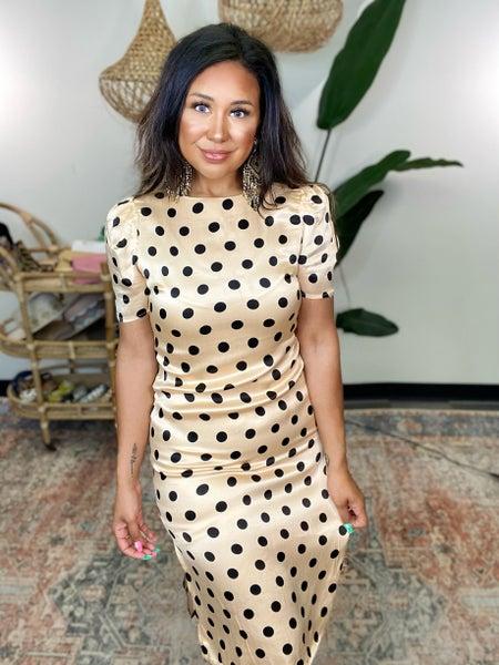 Polka Dot Thoughts Dress