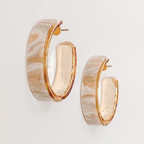 Feeling Marble-ous Earrings