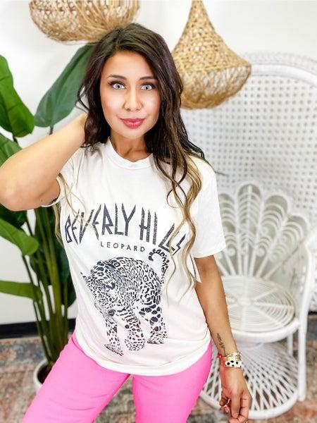 Leopard Loose T-shirt