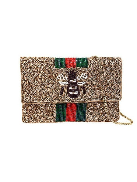 Golden Bee Clutch
