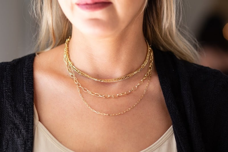 Long Live Layers Gold Necklace