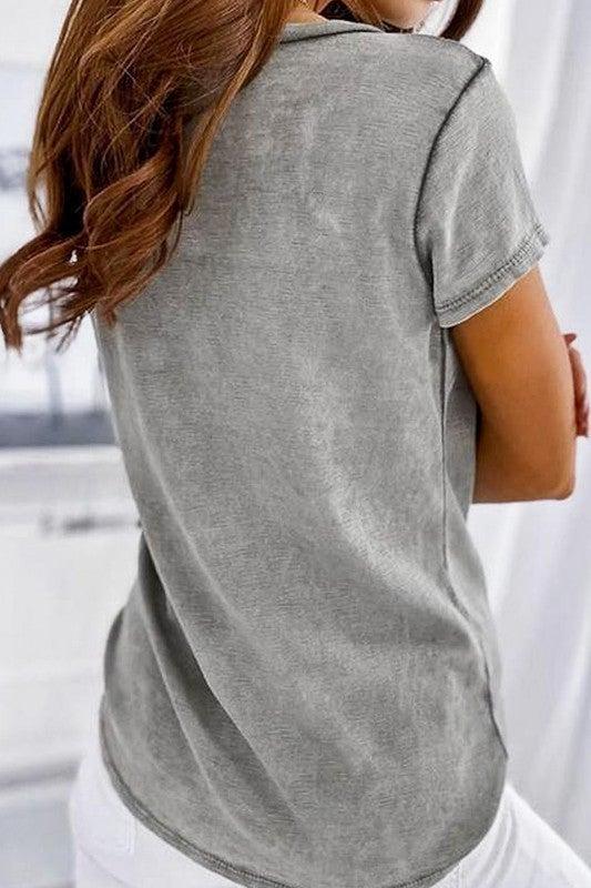 In My Pocket Top - Grey