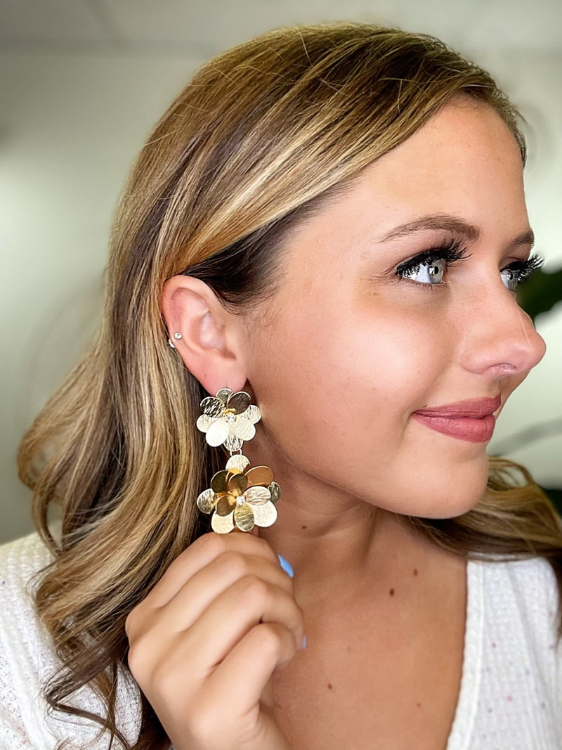 Petal To The Metal Earrings